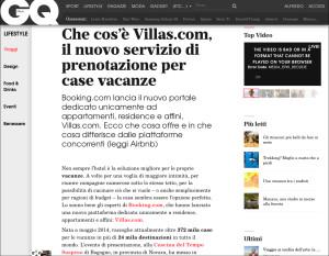 articolo su GQ ITALIA